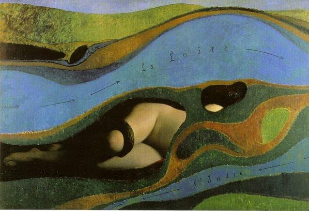 Ligéria ou le lit du fleuve
