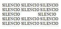 Donner à voir le silence