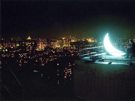 La lune décrochée