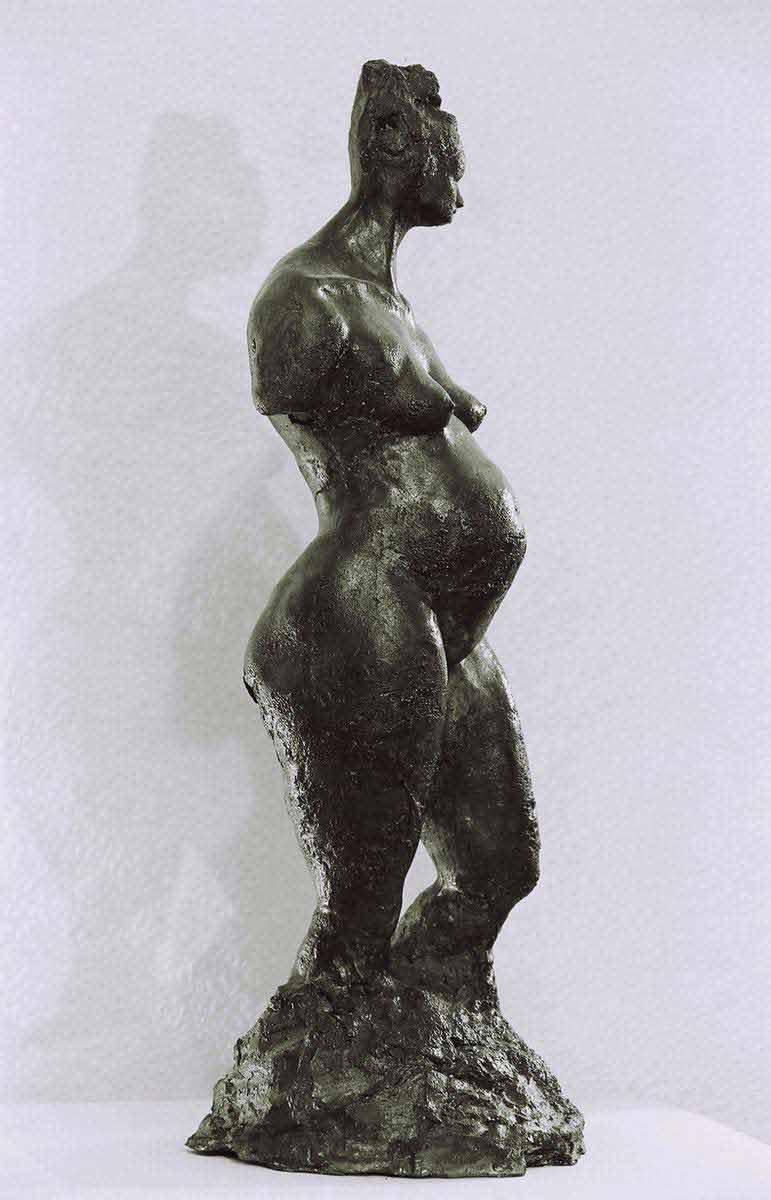 Aphrodite enceinte